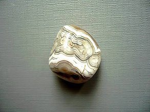 Minerály - Troml. – krajkový achát 22 mm, č.40f - 10767878_