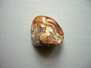 Minerály - Troml. – krajkový achát 23 mm, č.42f - 10768476_