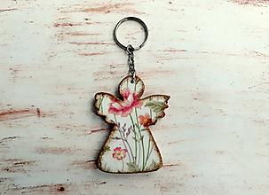 Kľúčenky - kľúčenka anjelik No.1 - 10768639_