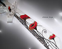 Šatky - Hodvábny set - šatka a kravata - 10767788_
