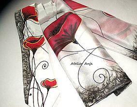 Doplnky - Hodvábny set - šatka a kravata - 10767722_