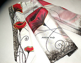 Šatky - Hodvábny set - šatka a kravata - 10767773_