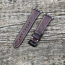 Náramky - Kožený remienok na hodinky - 10770469_