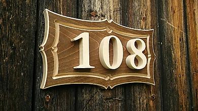 Dekorácie - Číslo domu (Biela) - 10771001_
