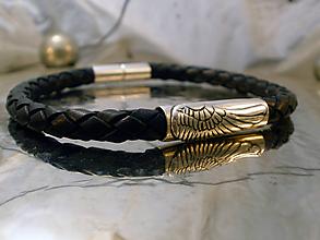 Šperky - anjelské krídlo - náramok - 10772077_
