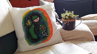 Úžitkový textil - Svetluška_obliečka na vankúšik - 10771961_
