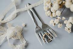 Pomôcky - Vidličky Pán a Pani ❤ - 10769380_