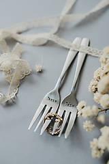 Pomôcky - Vidličky Pán a Pani ❤ - 10769381_