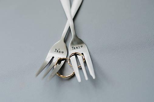 Vidličky Pán a Pani ❤