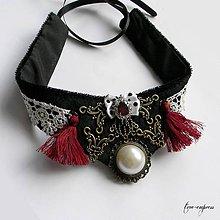 Náhrdelníky - Steampunk náhrdelník - 10772265_