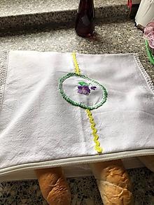 Úžitkový textil - Vrecko na pečivo - 10770712_