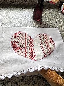 Úžitkový textil - Vrecko na pečivo - 10770776_