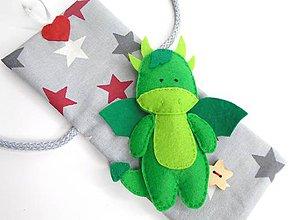 Hračky - Drobnosti v kapsičke pre chlapcov (Dráčik) - 10770990_