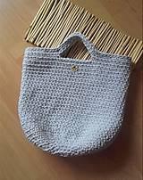 Veľké tašky - TOTE BAG svetlošedá - 10770836_