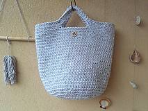 Veľké tašky - TOTE BAG svetlošedá - 10770839_