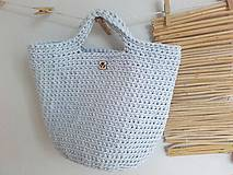 Veľké tašky - TOTE BAG svetlošedá - 10770842_