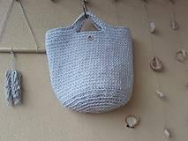 Veľké tašky - TOTE BAG svetlošedá - 10770844_