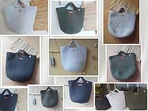 Veľké tašky - TOTE BAG svetlošedá - 10770847_