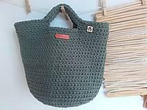 Veľké tašky - TOTE BAG khaki - 10770906_