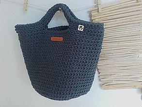 Veľké tašky - TOTE BAG grafit - 10771048_