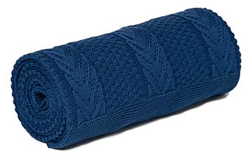 Textil - DEKA DO KOČÍKA OEKO-TEX® ROYAL - TMAVO MODRÁ - 10770932_