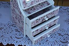 Krabičky - Toaletka na želanie :) - 10771588_