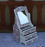 Krabičky - Toaletka na želanie :) - 10771589_