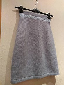Sukne - Nebeská modrá sukňa. - 10772654_