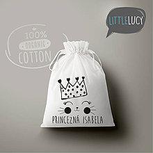 Iné tašky - Vrecko LiLu - malá princezná - 10770833_