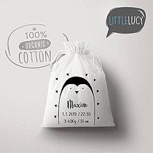 Iné tašky - Vrecko LiLu - tučniak - 10771281_
