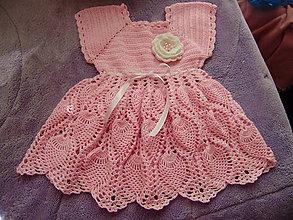 98d923828495 Šaty. Detské oblečenie - Detské háčkované šatočky - 10771447