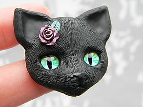 Odznaky/Brošne - Kitty - 10771855_