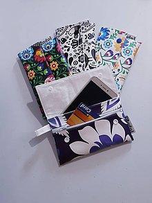 Peňaženky - Taška na mobil a drobnosti - 10771745_