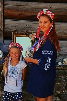 Ozdoby do vlasov - Folklórne slávnosti čelenka do vlasov - 10770228_