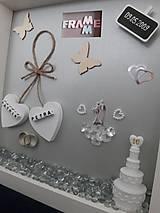 Rámiky - Pamiatka k výročiu svadby - 10771020_