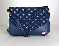 Kabelky - Petra modrá 5 - 10770617_