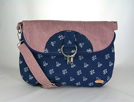 Daria ružová 2 = taška + batoh