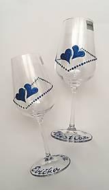 Drobnosti - Svadobné poháre - 10769930_