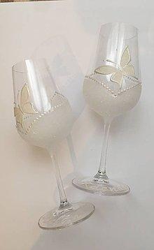 Drobnosti - Svadobné poháre - 10769564_
