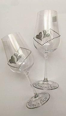 Drobnosti - Svadobné poháre - 10770009_