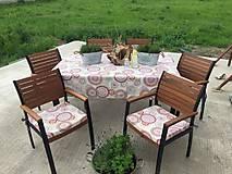 Úžitkový textil - Sedáky na želanie pre Magdu - 10770852_