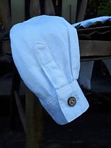 Detské oblečenie - Ľanová košeľa pre malých fešákov - 10772055_