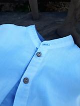 Detské oblečenie - Ľanová košeľa pre malých fešákov - 10772056_