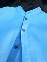 Detské oblečenie - Ľanová košeľa pre malých fešákov - 10772057_