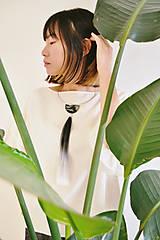 Náhrdelníky - Choker ZEN ~ halfmoon - 10773048_