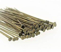 Komponenty - Keltovací nit (30mm - Meď/Bronz) - 10774358_