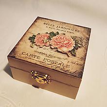 Krabičky - Milá krabička na drobnosti - 10775409_