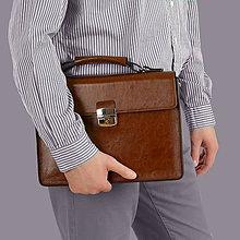 c2e3dcfc63 Na notebook - Kožená taška na notebook ZMEJSS - 10774819