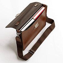 Na notebook - Kožená taška na notebook ZMEJSS - 10774826_