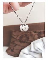 Náhrdelníky - Retiazka s medailónmi / chirurgicka ocel - 10776555_